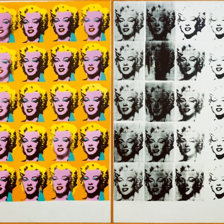 Marilyn Diptych by Andy Warhol