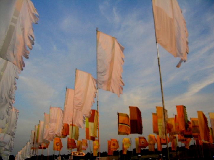 Glastonbury Flags by Chain of Wolves