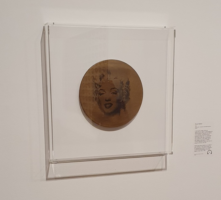 Round Marilyn by Andy Warhol