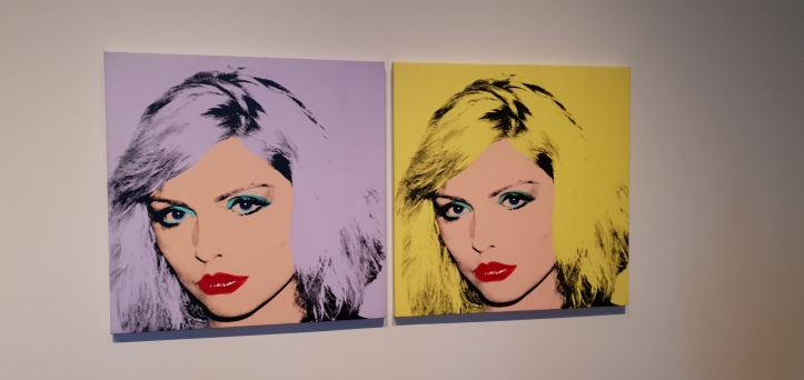 Debbie Harry by Andy Warhol