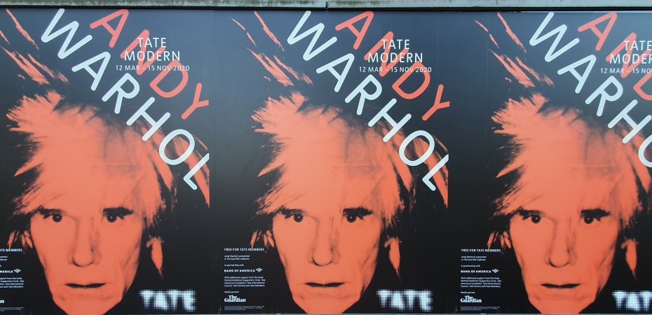 The Andy Warhol exhibition at the Tate Modern