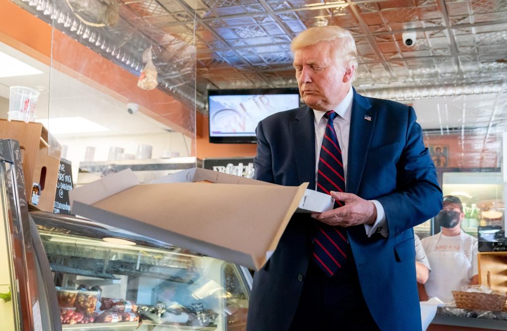 Donald Trump and Pizza
