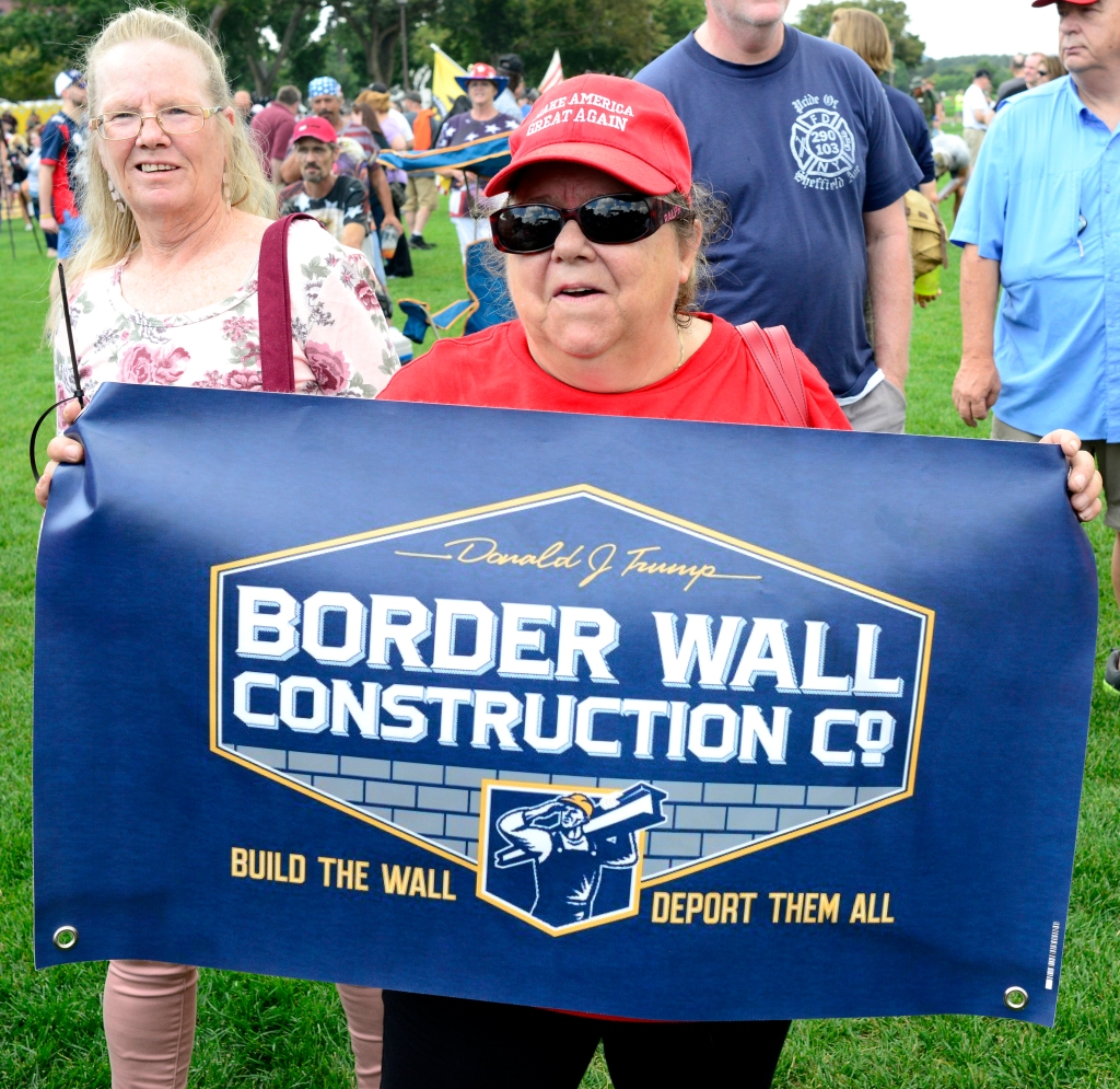 Donald Trump wall supporter