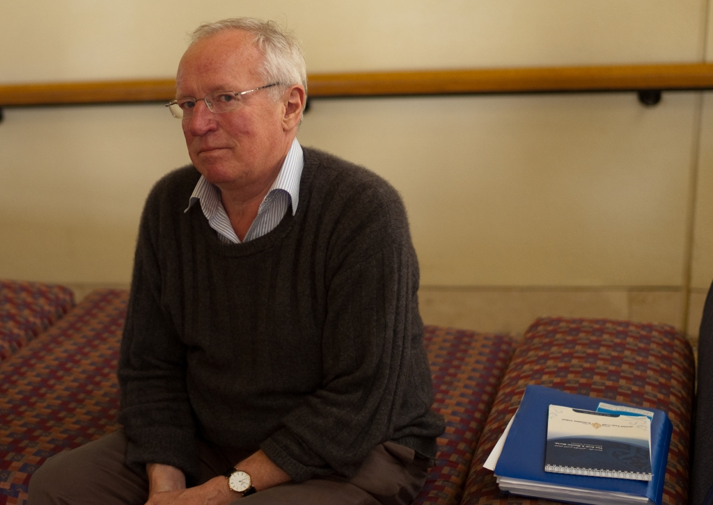 Robert Fisk pictured in 2010