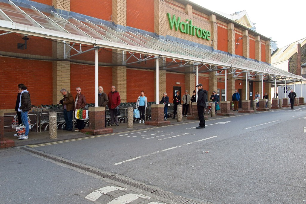Waitrose in Sheffield by Tim Dennell