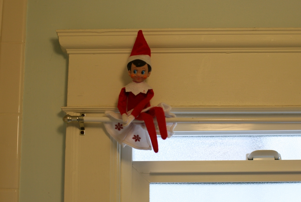 elf-on-the-shelf by Dennis Goedegebuure