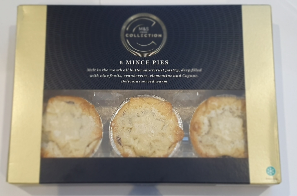 Marks and Spencer Collection mince pies