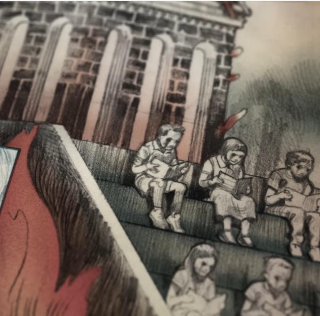 The Utopia graphic novel