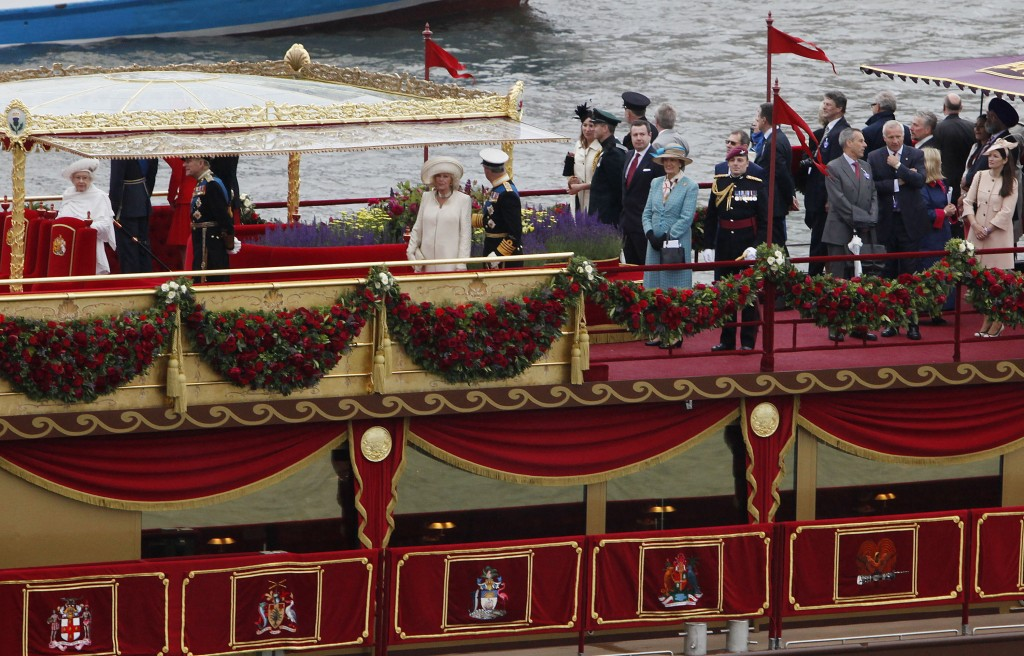 Diamond Jubilee Pageant by Richard Lewis