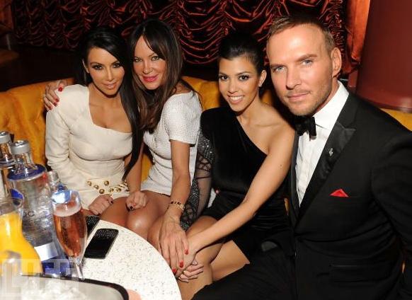 Kim Kardashian and Matt Goss