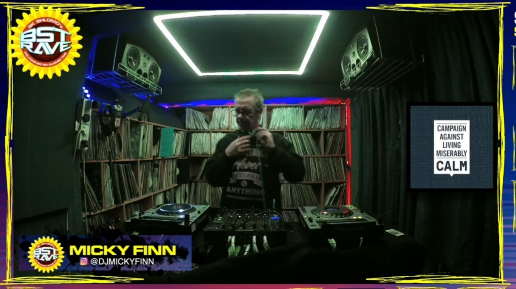 Micky Finn at BST Rave
