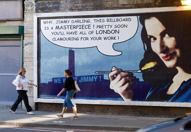 Nigella Lawson billboard