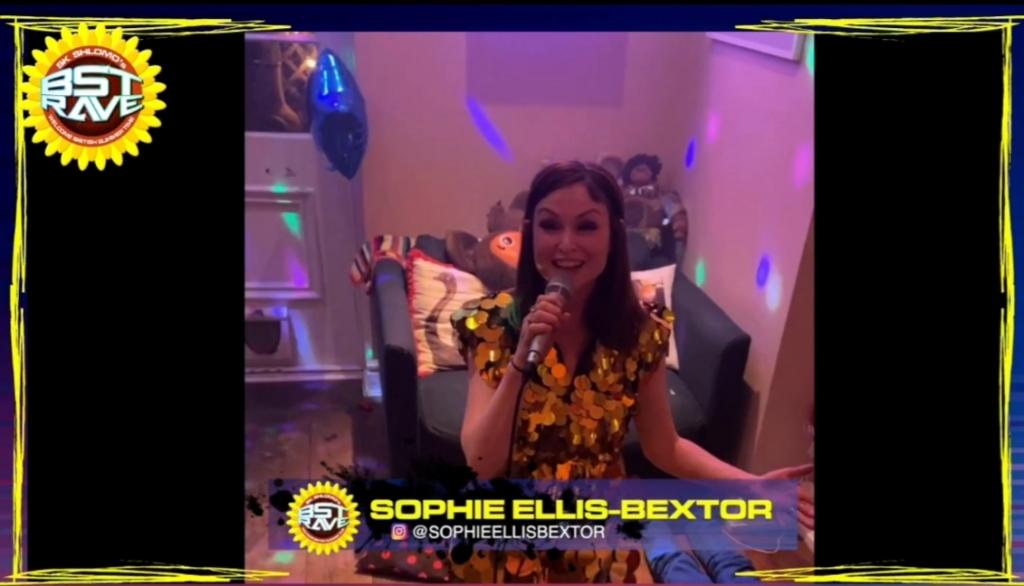 Sophie Ellis Bextor at BST Rave