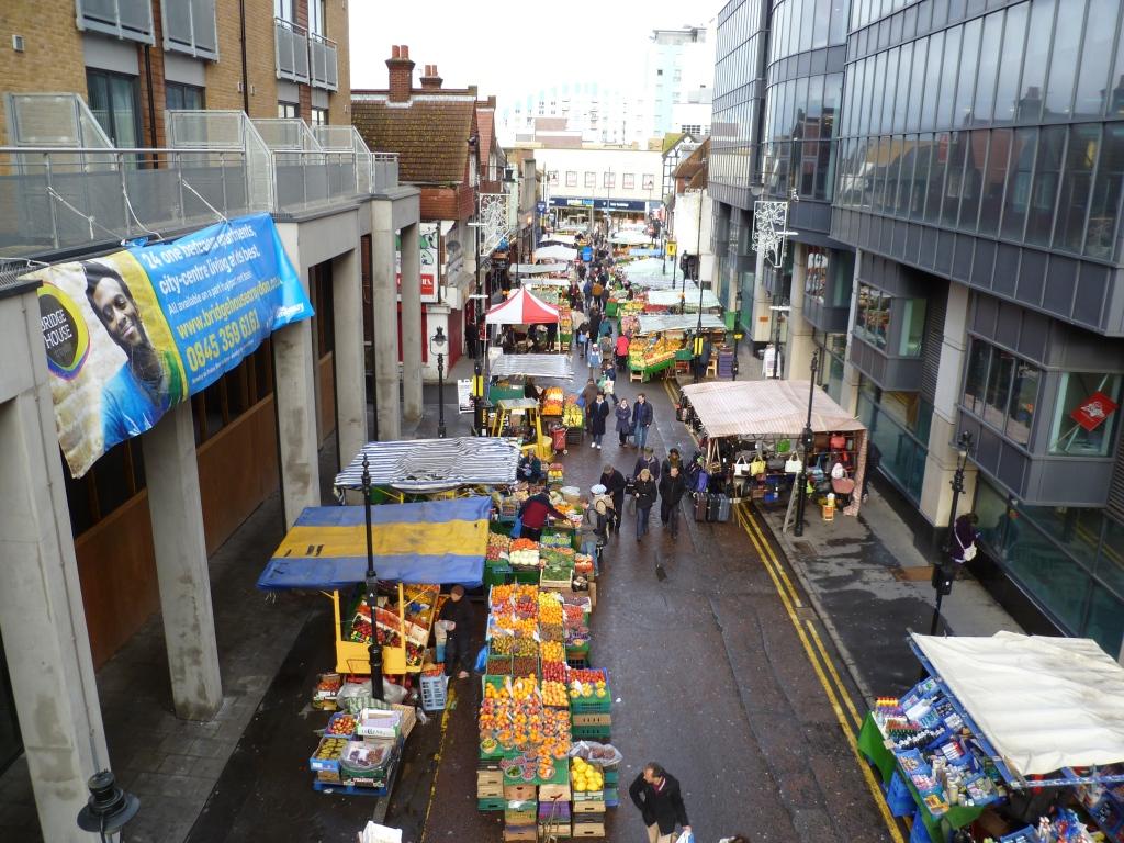 Surrey Street Market in Croydon