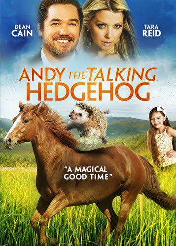 Amazon poster of Andy the Talking Hedgehog
