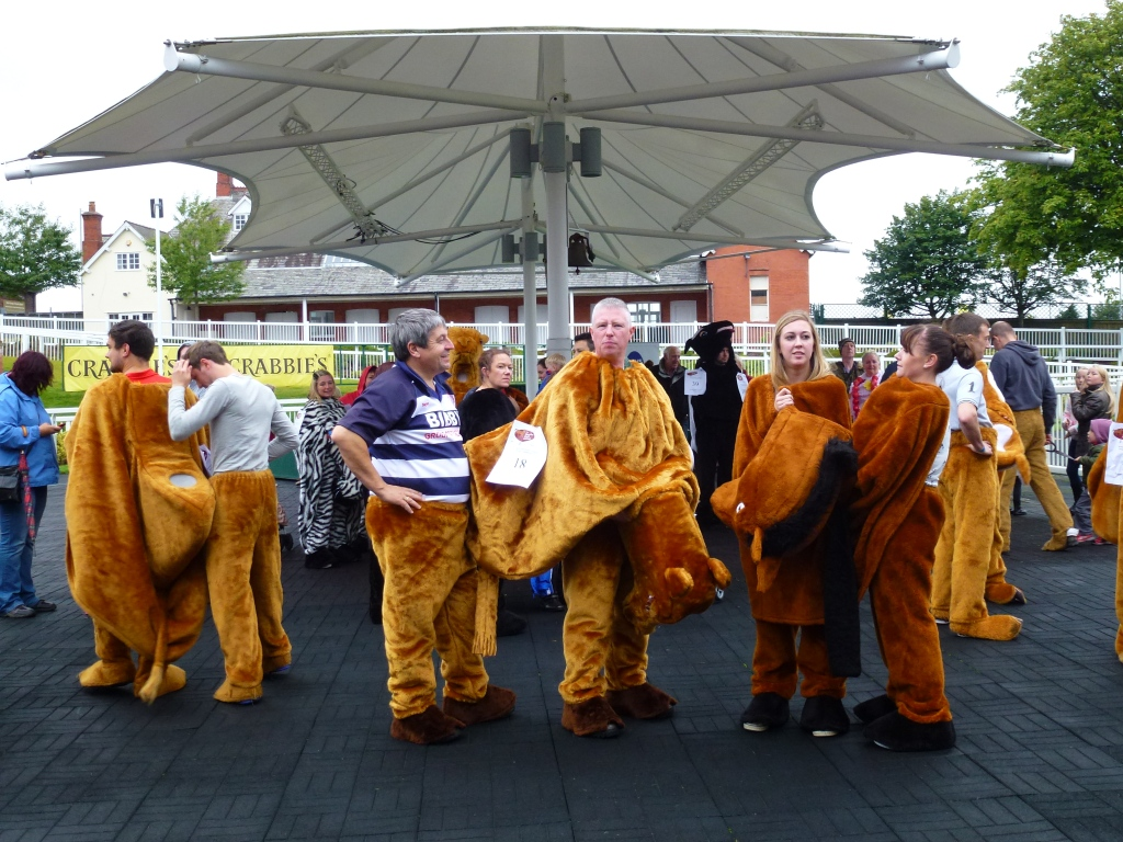 Panto Creatures at Aintree Racecourse - Sept 2013ember 2013