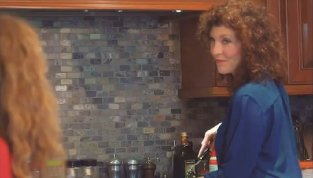 The mum in the kitchen