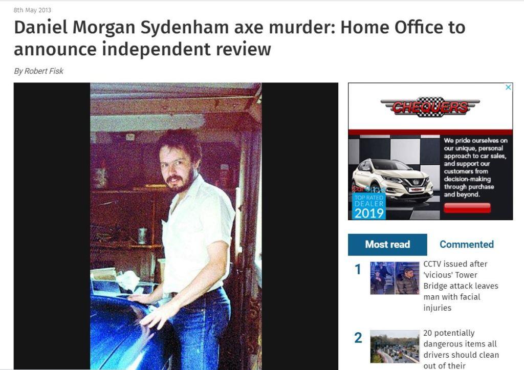 Daniel Morgan News Shopper screenshot