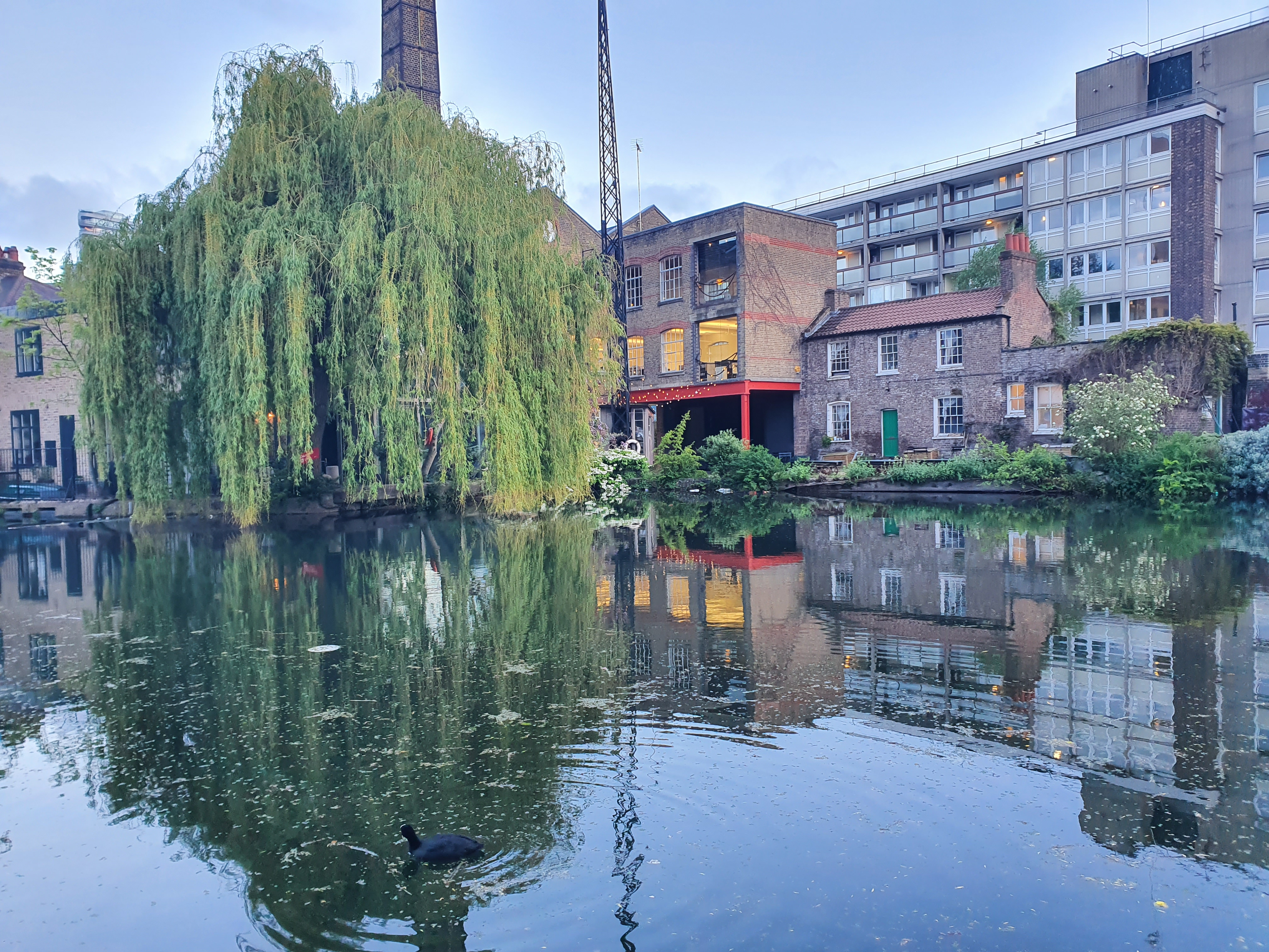 Canalside living