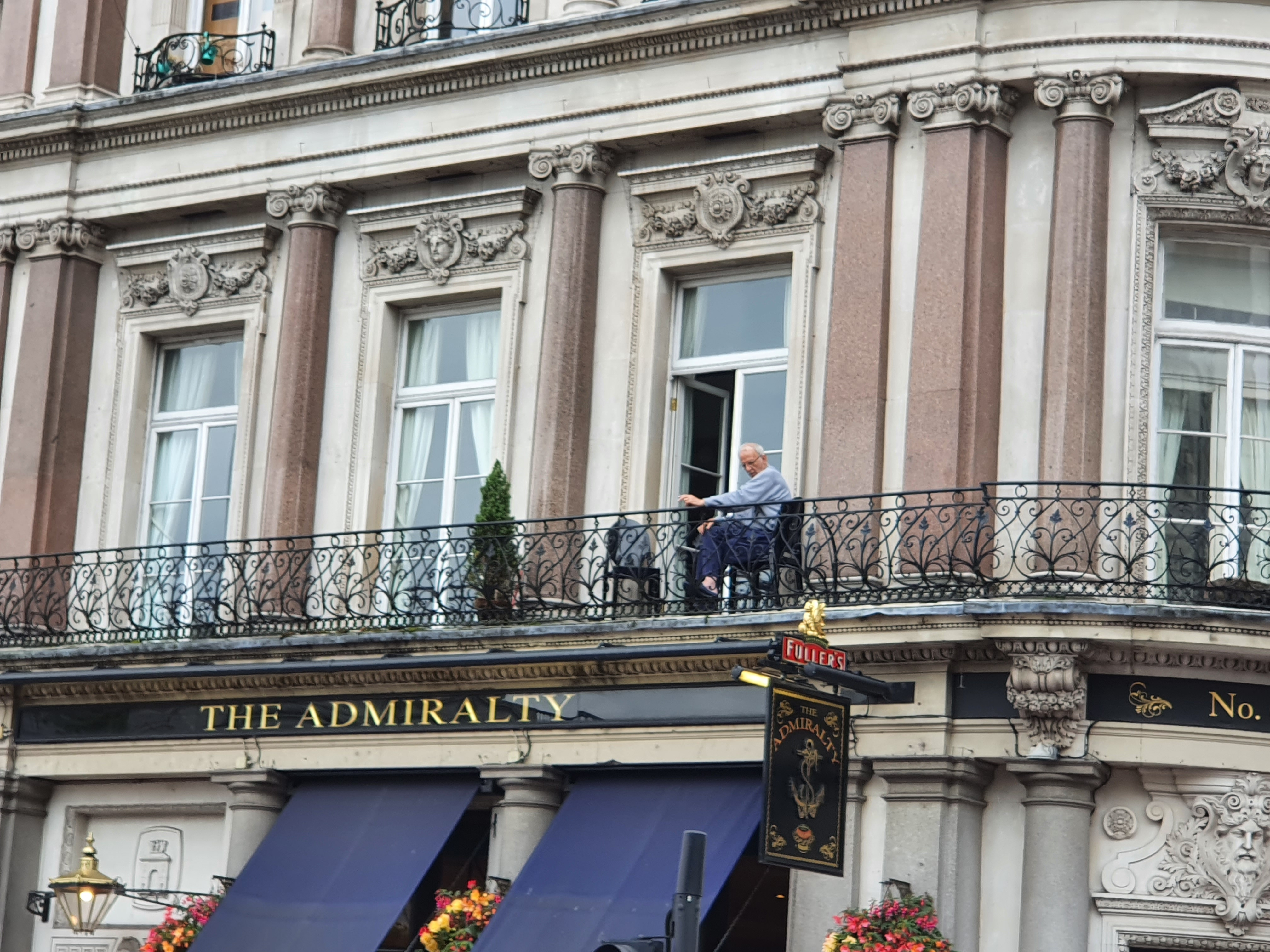 Man at The Admiralty