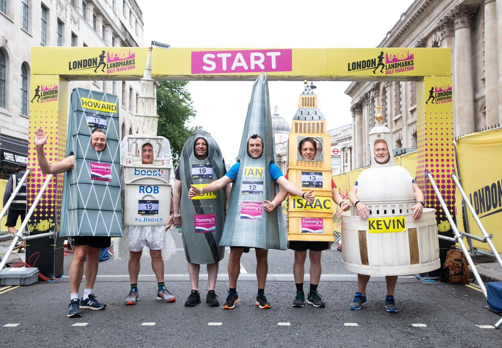 London Landmarks runners